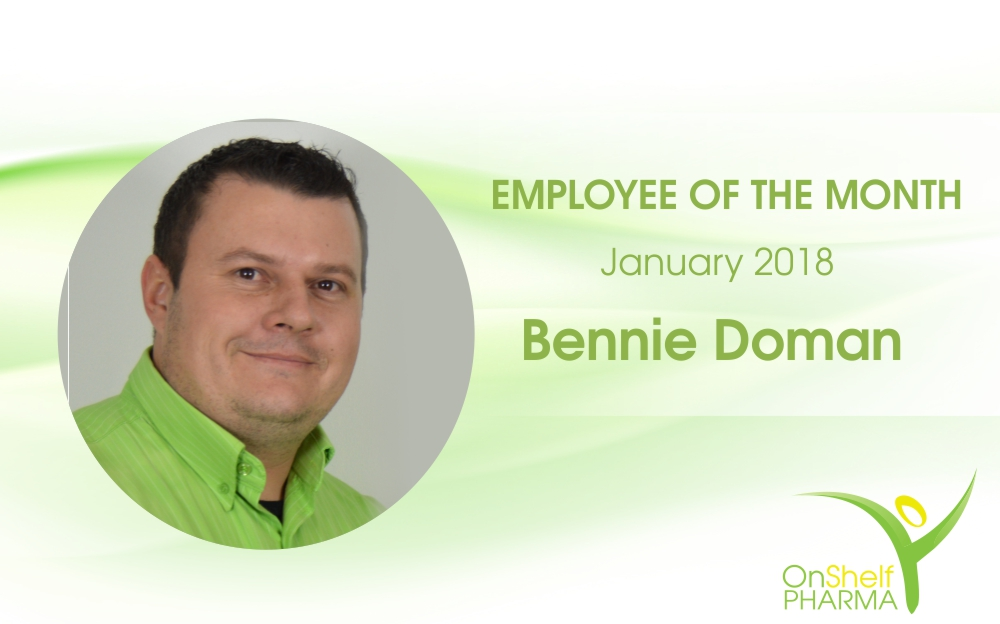 Employee of the Month: Bennie Doman – January 2018