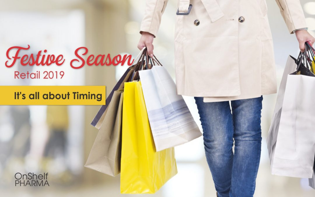 Festive Season Retail 2019: It's all about Timing
